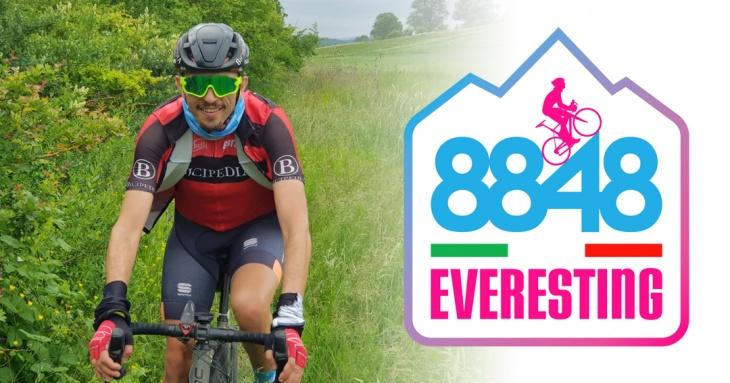 Giuseppe Vigna tenta l'Everesting