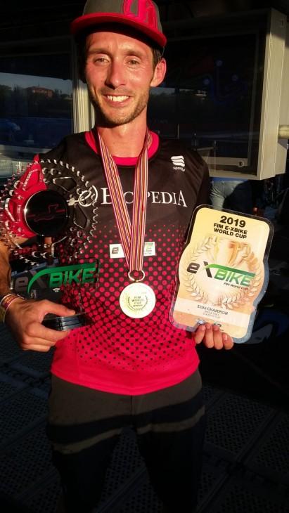 Roberto Fabbri  è Campione del Mondo della E-Xbike2