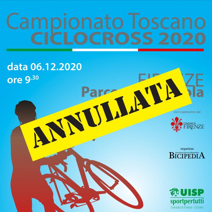 Annullato il Campionato Toscano Ciclocross UISP
