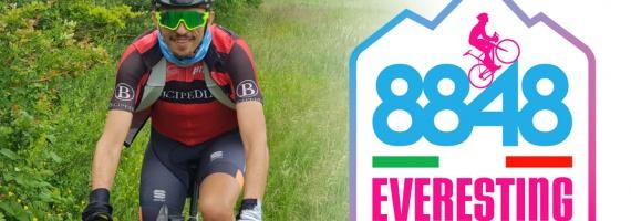 Giuseppe Vigna conquista l'Everesting