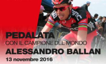 Pedalata con il Campione del Mondo - Alessandro Ballan