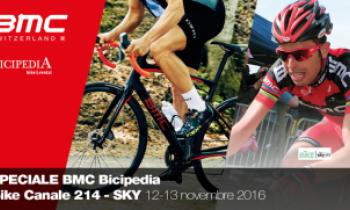 Speciale BMC Bicipedia sul canale Sky Bike 214