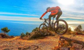 In bici si può